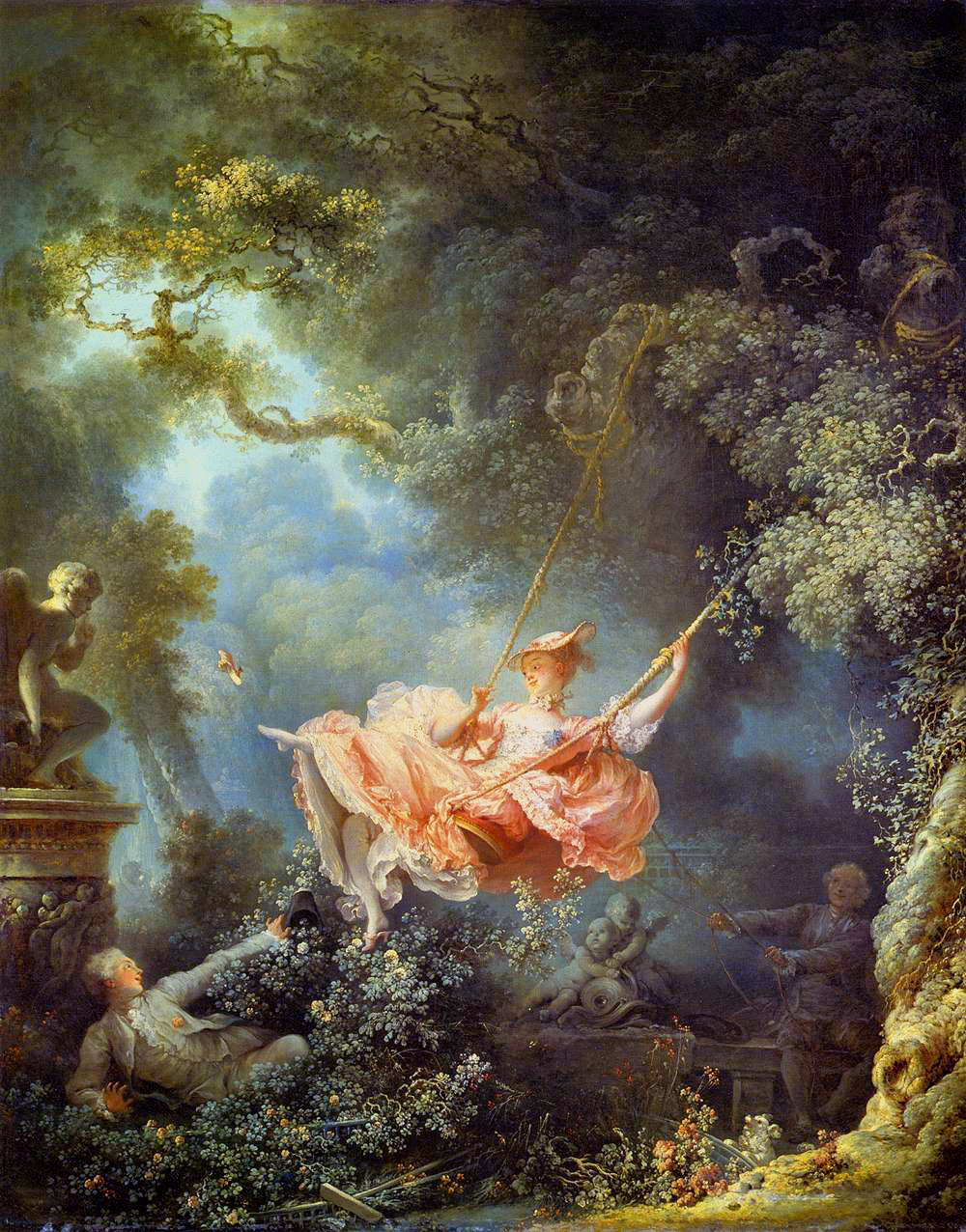 'The Swing' by Fragonard - The Wallace Collection, London. C.1767