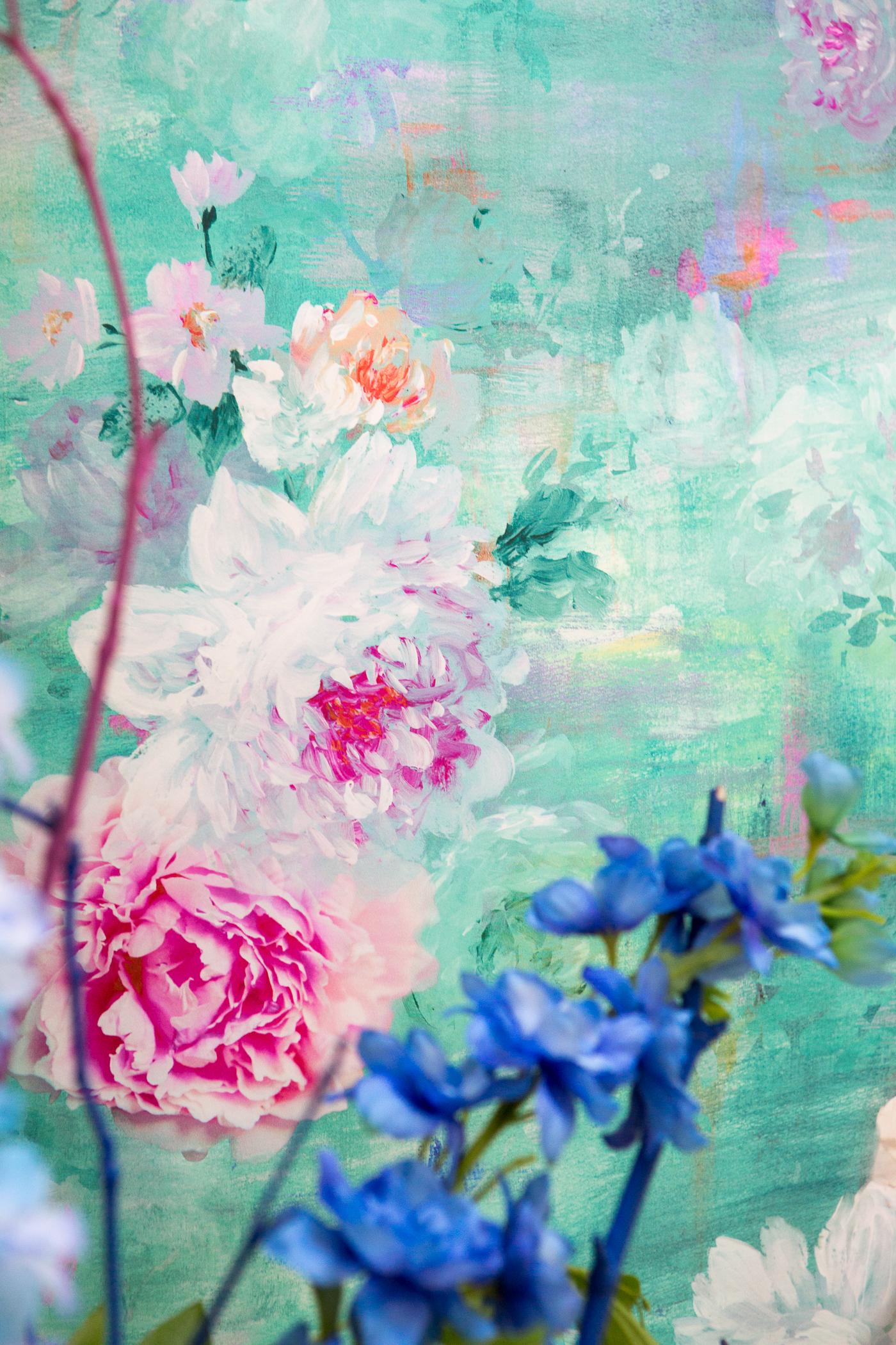 Detail of Valerie wallpaper
