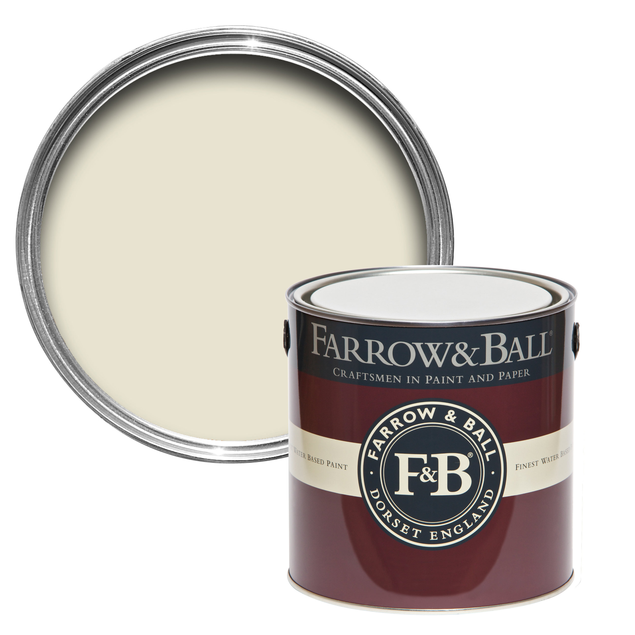 James White paint by Farrow & Ball