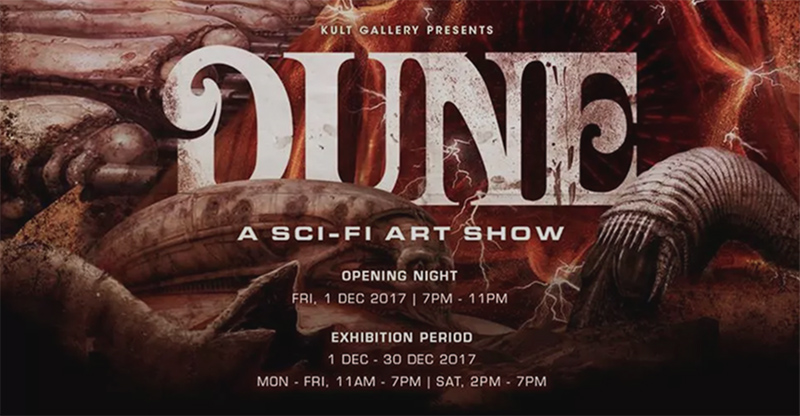 'DUNE' 群展 @Kult Gallery, 新加坡 2017  'DUNE' Group Show @Kult Gallery, Singapore 2017