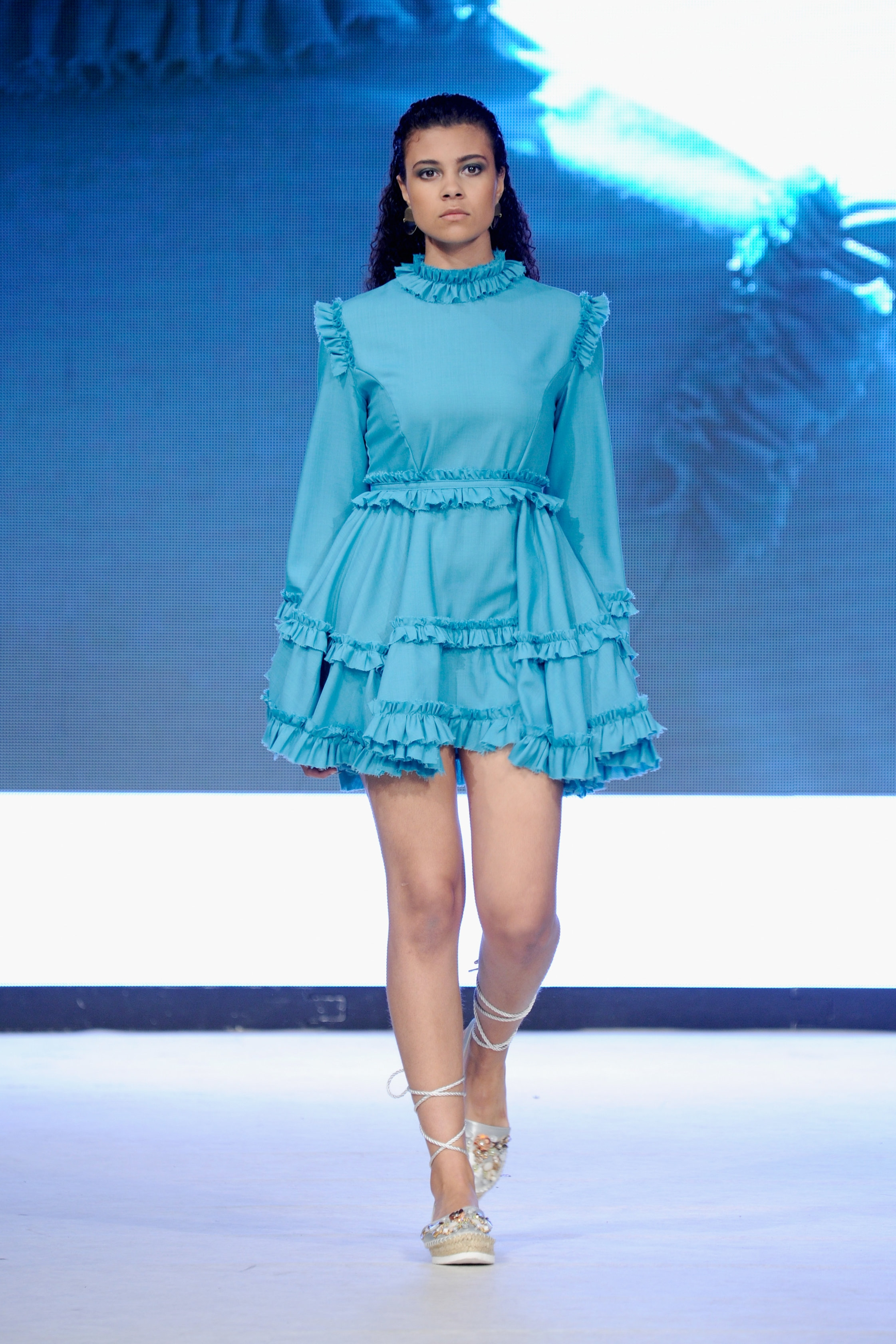 look 4 - 100% merino wool dress