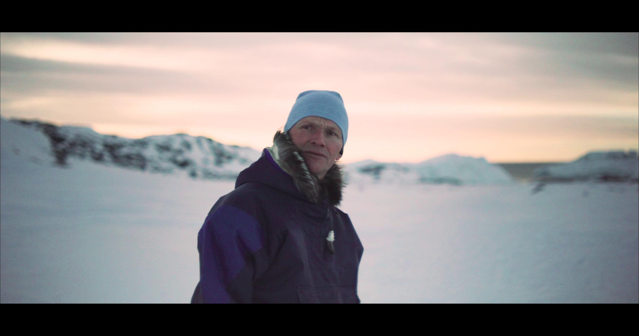 Angut utoqqaq (Old man) Actor: Jørgen Kristensen