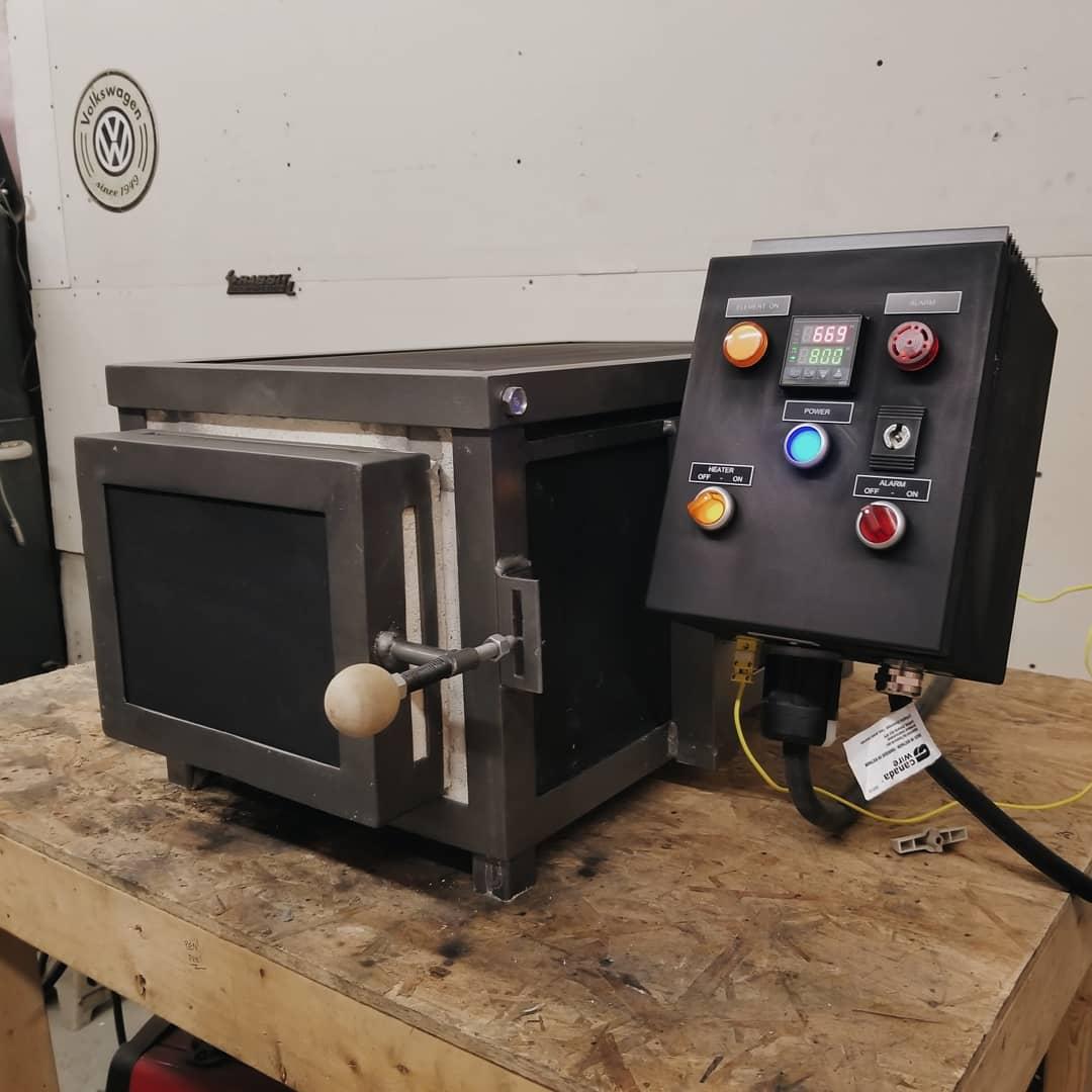 Electric Heat Treat Oven Build — BM
