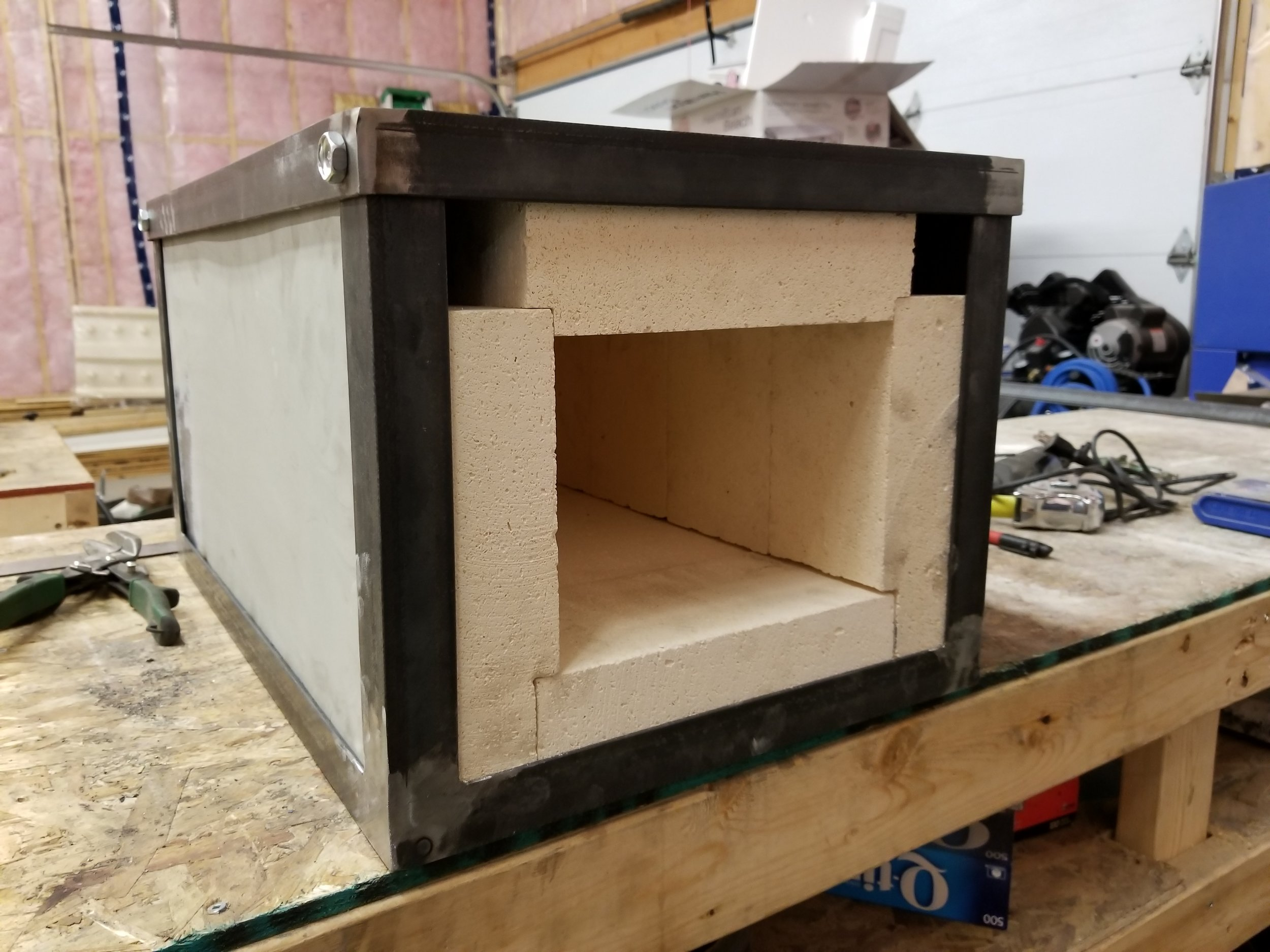 Electric Heat Treat Oven Build — BM