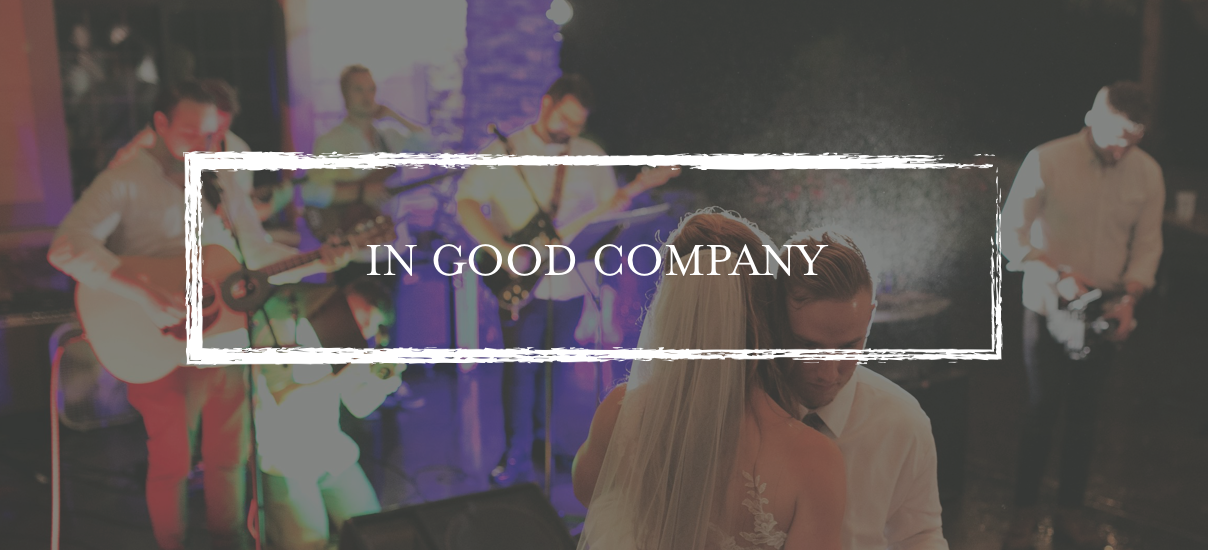 In Good Company - Services : Live Event Music, Wedding Band, DJ