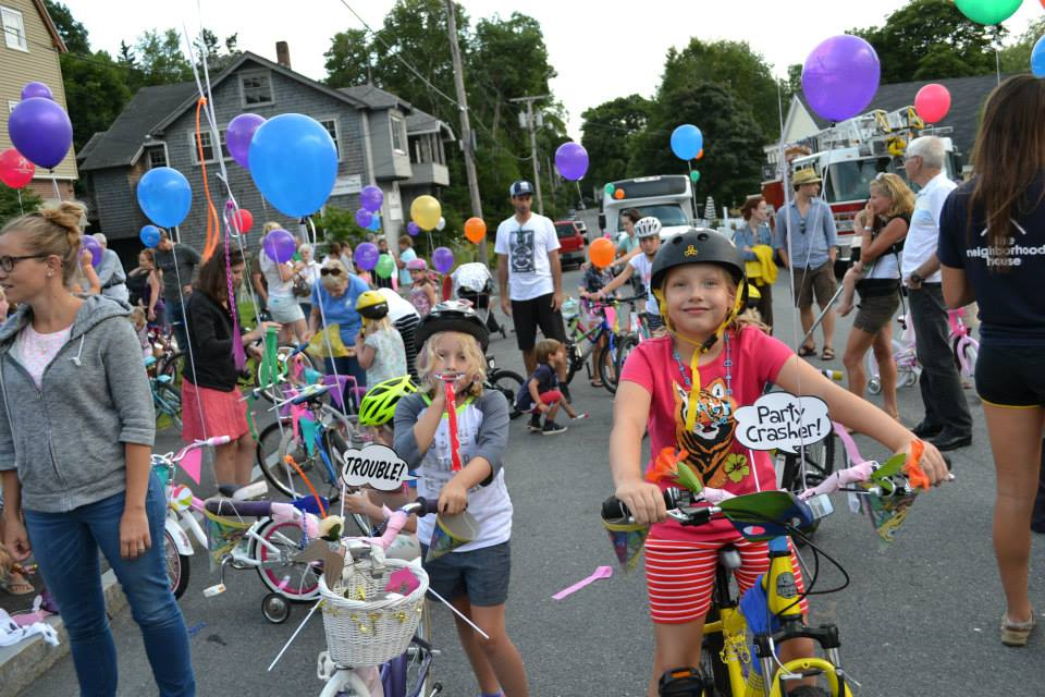 Ready to get the party started at the 2014 Bike Parade & Ice Cream Social…