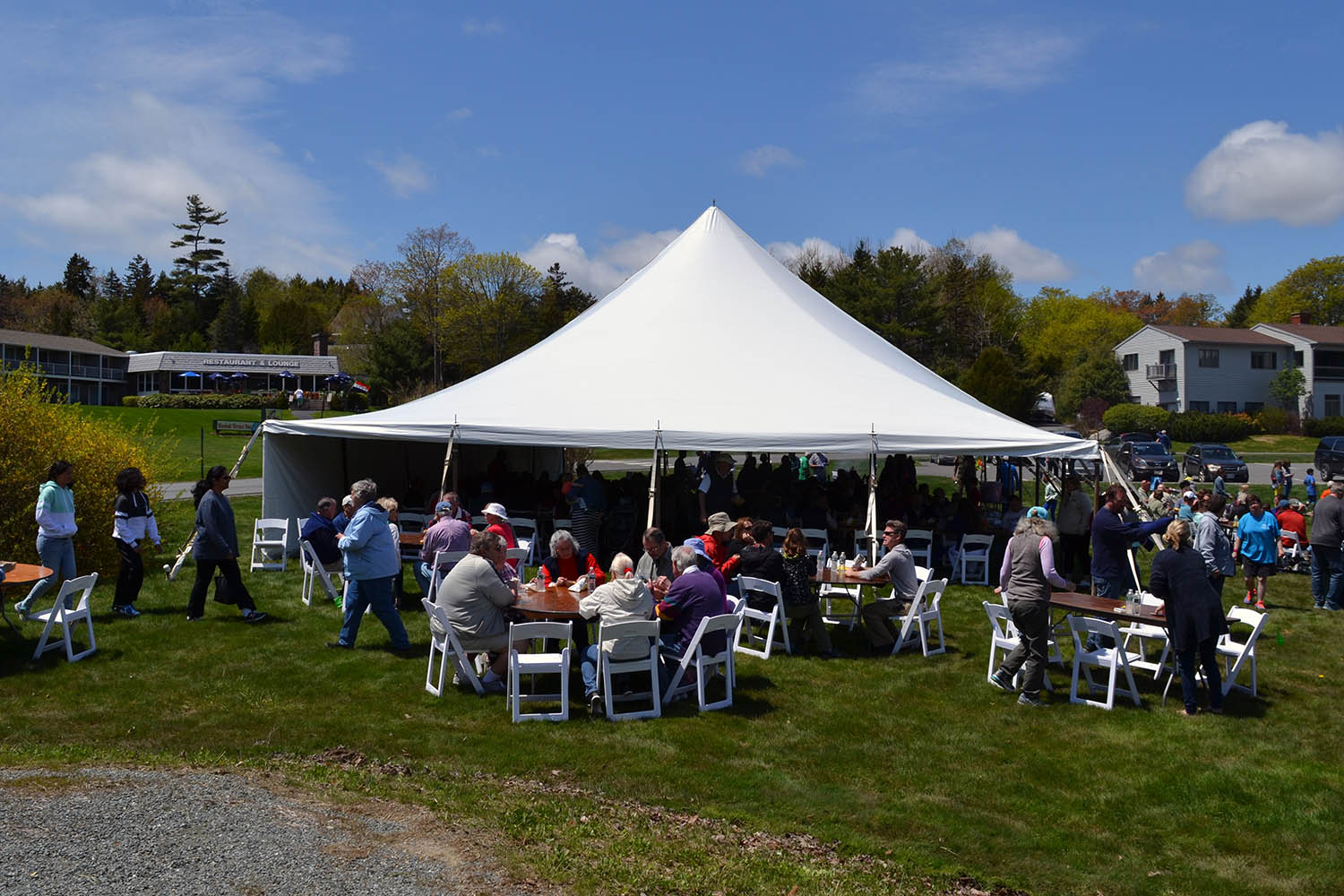 Nearly 400 guests from across MDI gathered for the annual Community Cookout