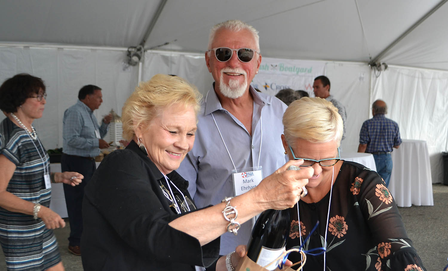 "The ""Wine Pull"" was a fun addition to the 2018 Bash and will return for 2019…"