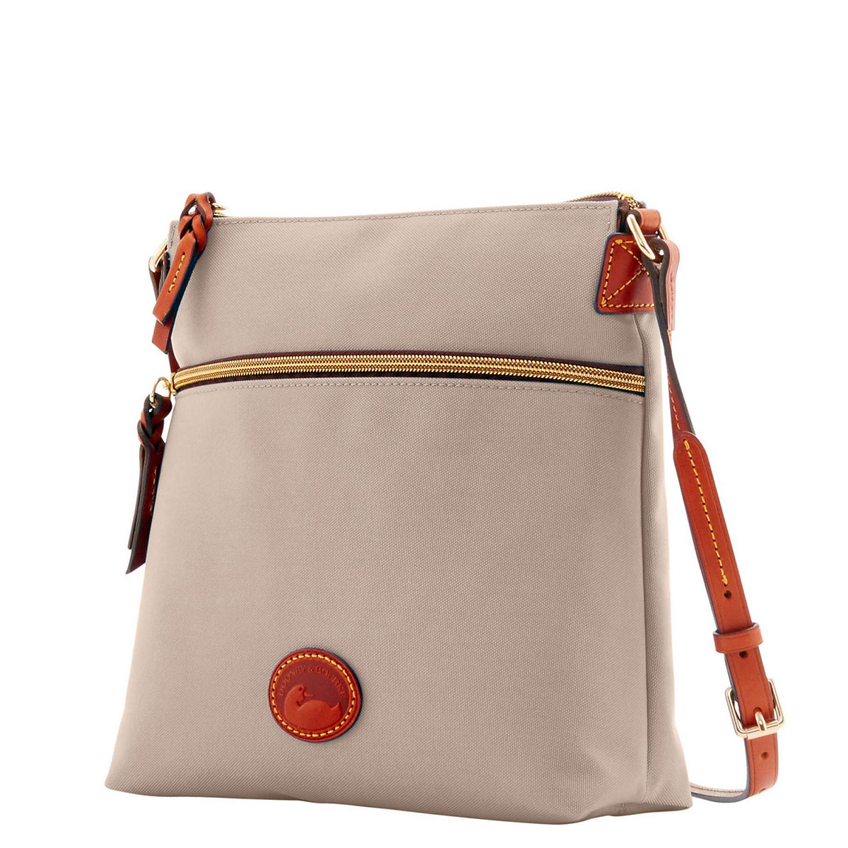 Dooney & Bourke Crossbody Bag - Generously provided by D&B, this classic crossbody bag is made of durable nylon and features leather trim. Casual and versatile!Retail Value $129.00