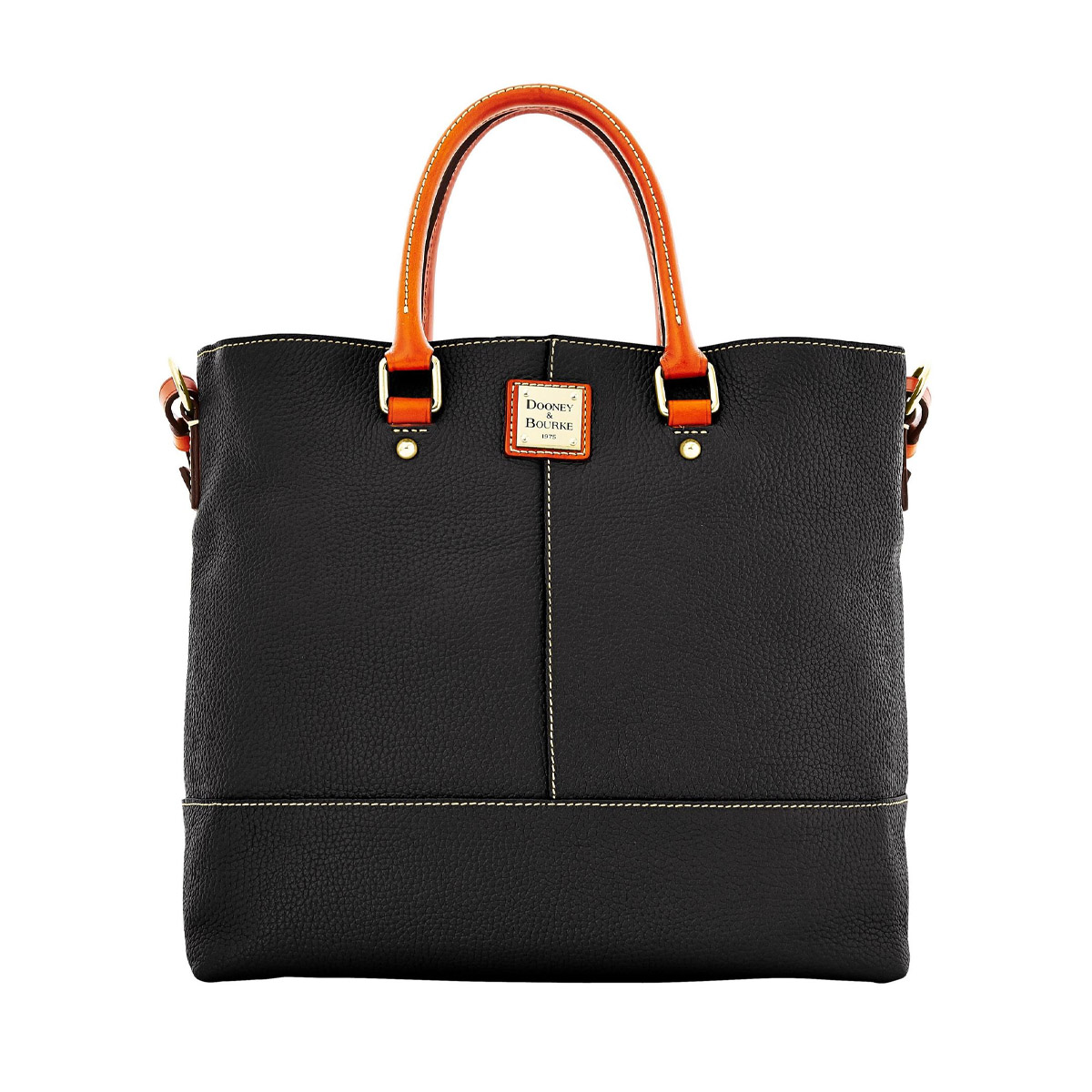 Dooney & Bourke Chelsea handbag - The Chelsea bag, generously provided by D&B is made of stunning textured black leather which is as durable as it is beautiful. Featuring a spacious interior this bag can be worn over the shoulder and taken anywhere!Retail Value: $308.00