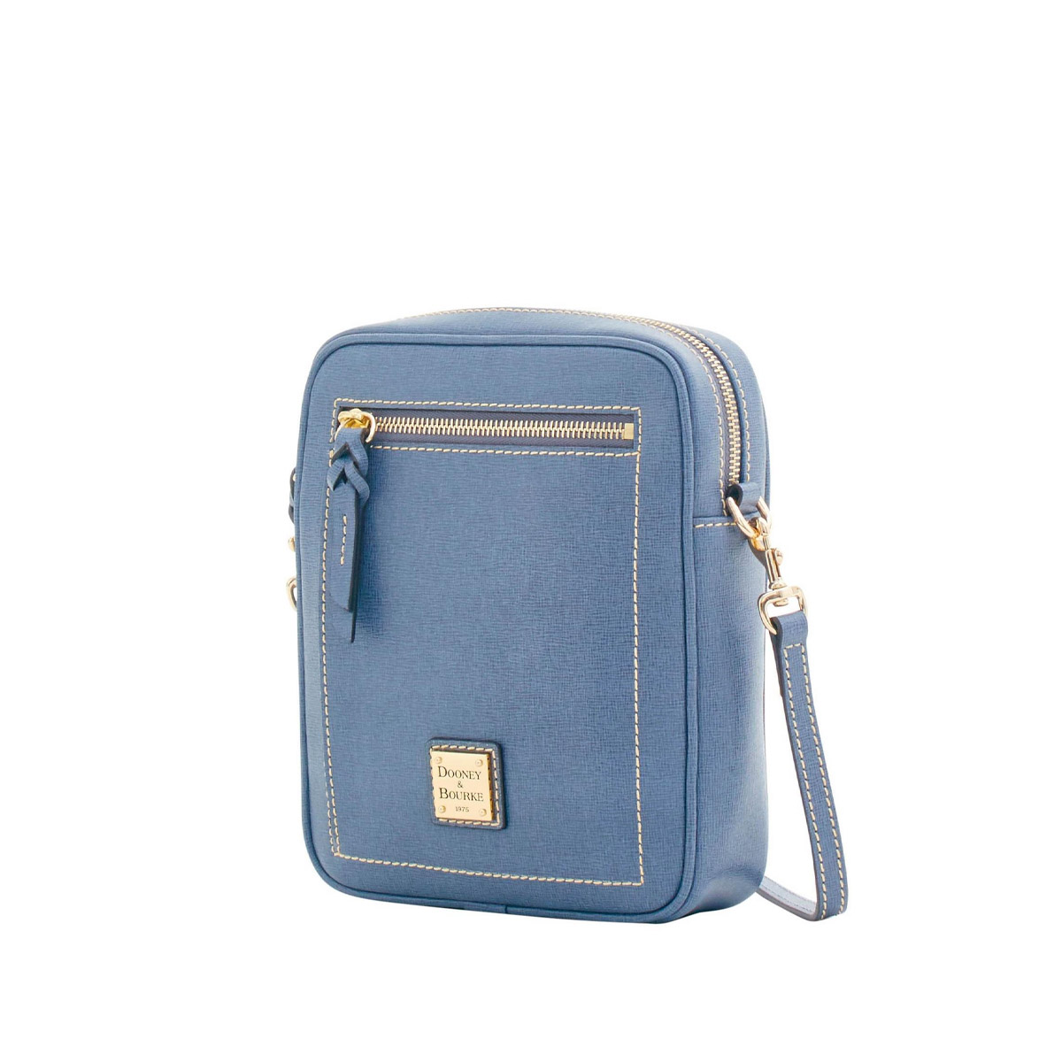 Dooney & Bourke Camera Crossbody Bag - Generously contributed by D&B, the Camera Crossbody bag in steel blue features a generous adjustable shoulder strap, and just the right amount of room to carry the essentials.Retail Value: $208.00