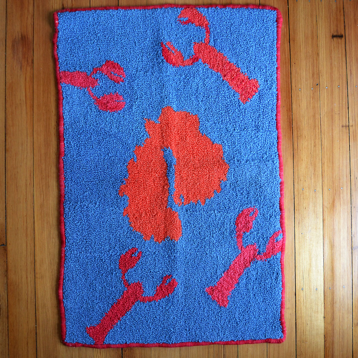 Hand Hooked MDI Rug - Neighborhood House Board member, Nancy Schafer is a woman of many talents… including hooking rugs. This one of a kind hand hooked rug will brighten up any room with a colorful and fun design featuring the island we call home along with iconic Maine lobsters. Snap this up before it's gone! You can view more of Nancy's work here.