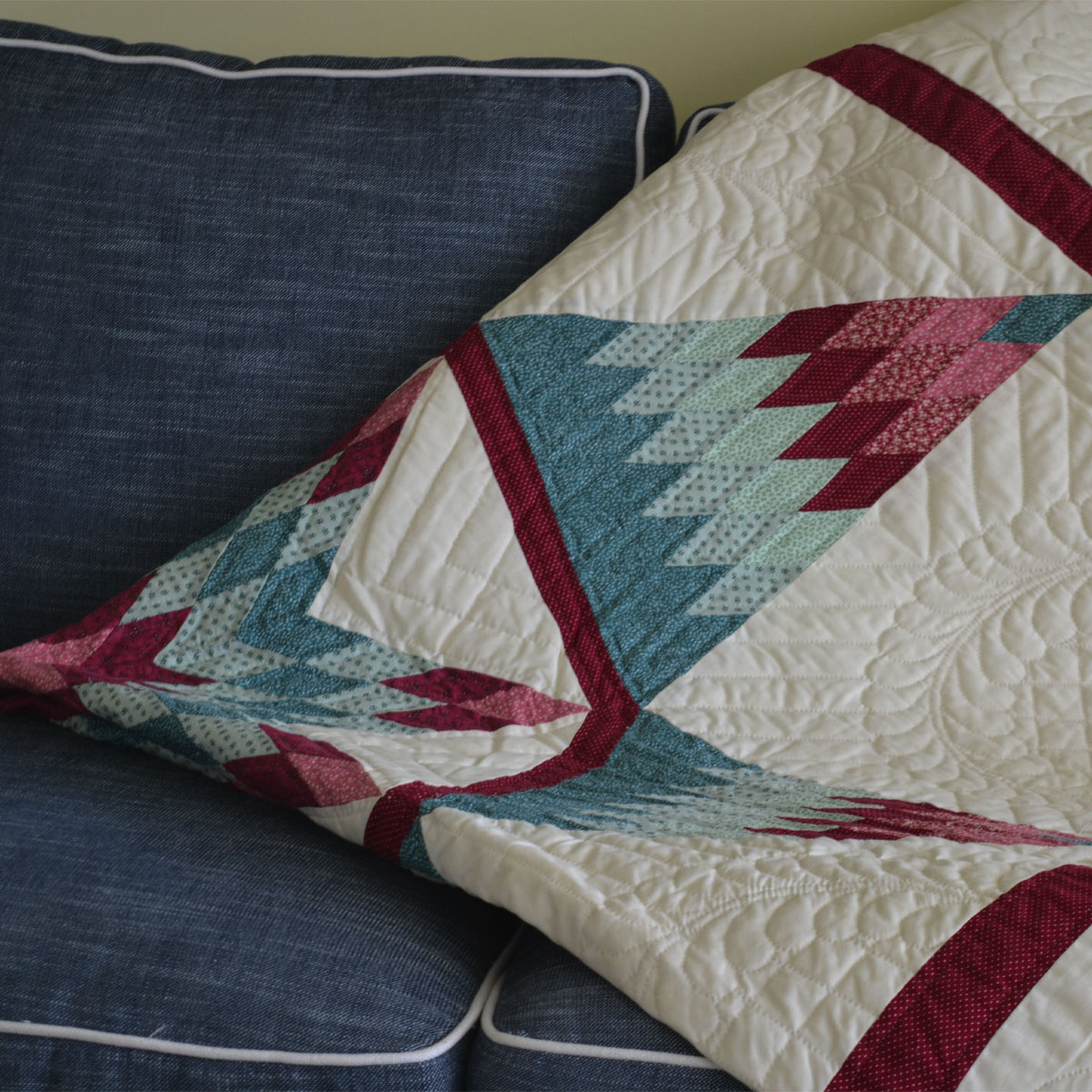 Hand Stitched Amish Quilt - An anonymous donor has generously provided this gorgeous quilt, hand crafted in the 1970s by an Amish woman and her daughters in Lancaster County, Pa. Everything is hand stitched in this classic display of Amish craftsmanship.Retail Value: $500.00