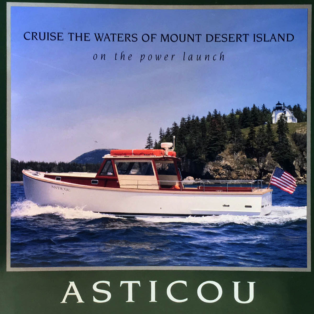 Evening Cruise on Asticou - Captain Rick Savage is generously providing this evening outing for up to 25 aboard Asticou. Cruise the waters around NEH with your group on this unforgettable evening adventure! Available to redeem on any mutually agreeable date in July or August 2019. Bring some appetizers and beverages to turn it into a scenic cocktail party!Retail Value: $800.00