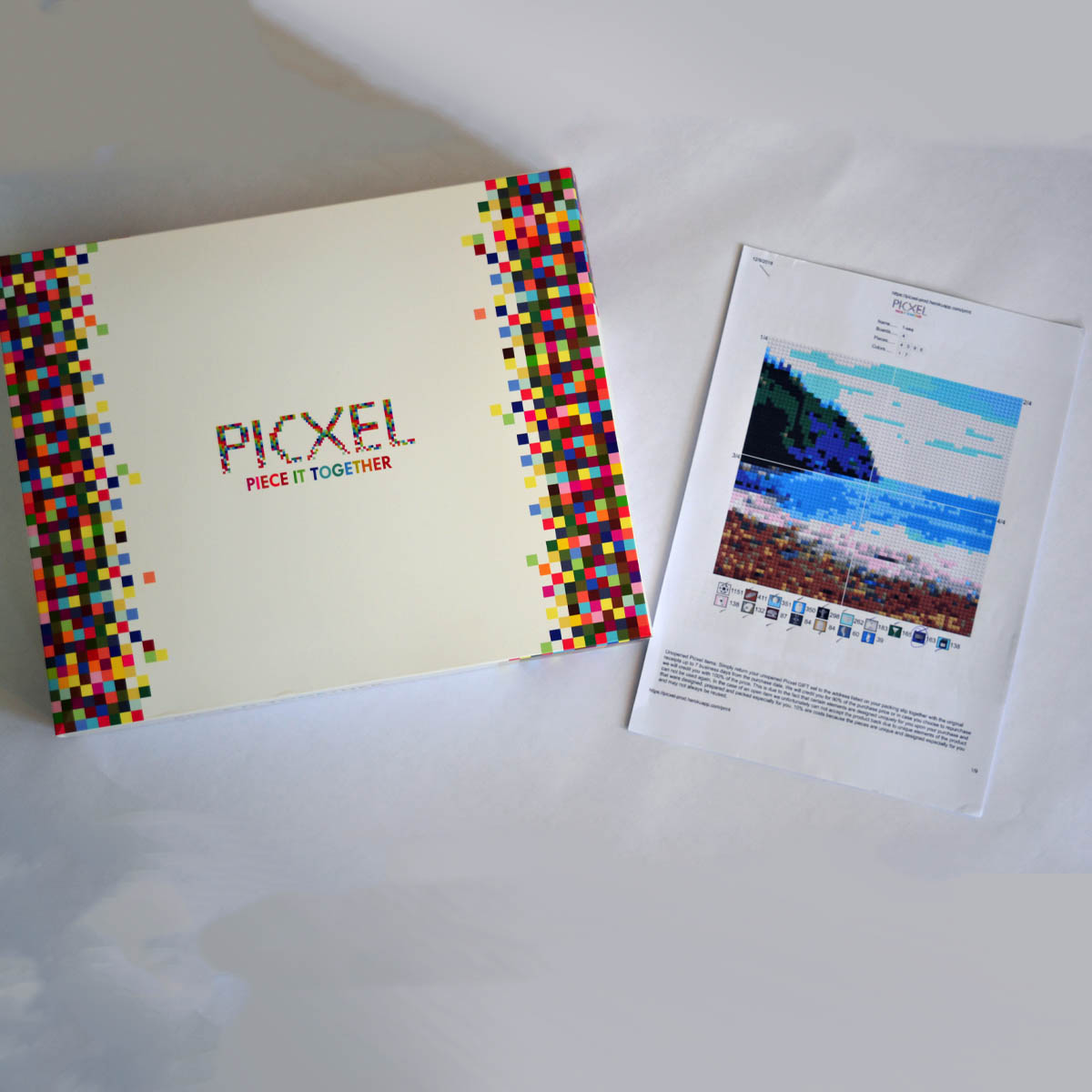 """HUNTER's Beach PIcxel - The Gleason Family has provided this amazingly cool one-of-a-kind item! The """"Picxel"""" is a lego-like kit that when assembled creates a """"picture"""" of Hunter's Beach. A perfect summer-long activity for the entire family, the end result will be something that can proudly be displayed and admired. Find out more about Picxel here."""