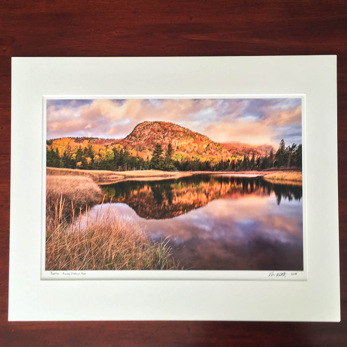 """Beehive"" by Howie Motenko - This stunning photo print, provided by the Cornman Family, is matted and ready to be framed. Local photographer Howie Motenko is known for capturing the beauty of this island we are lucky enough to call home, and this print in particular is the perfect example of that."