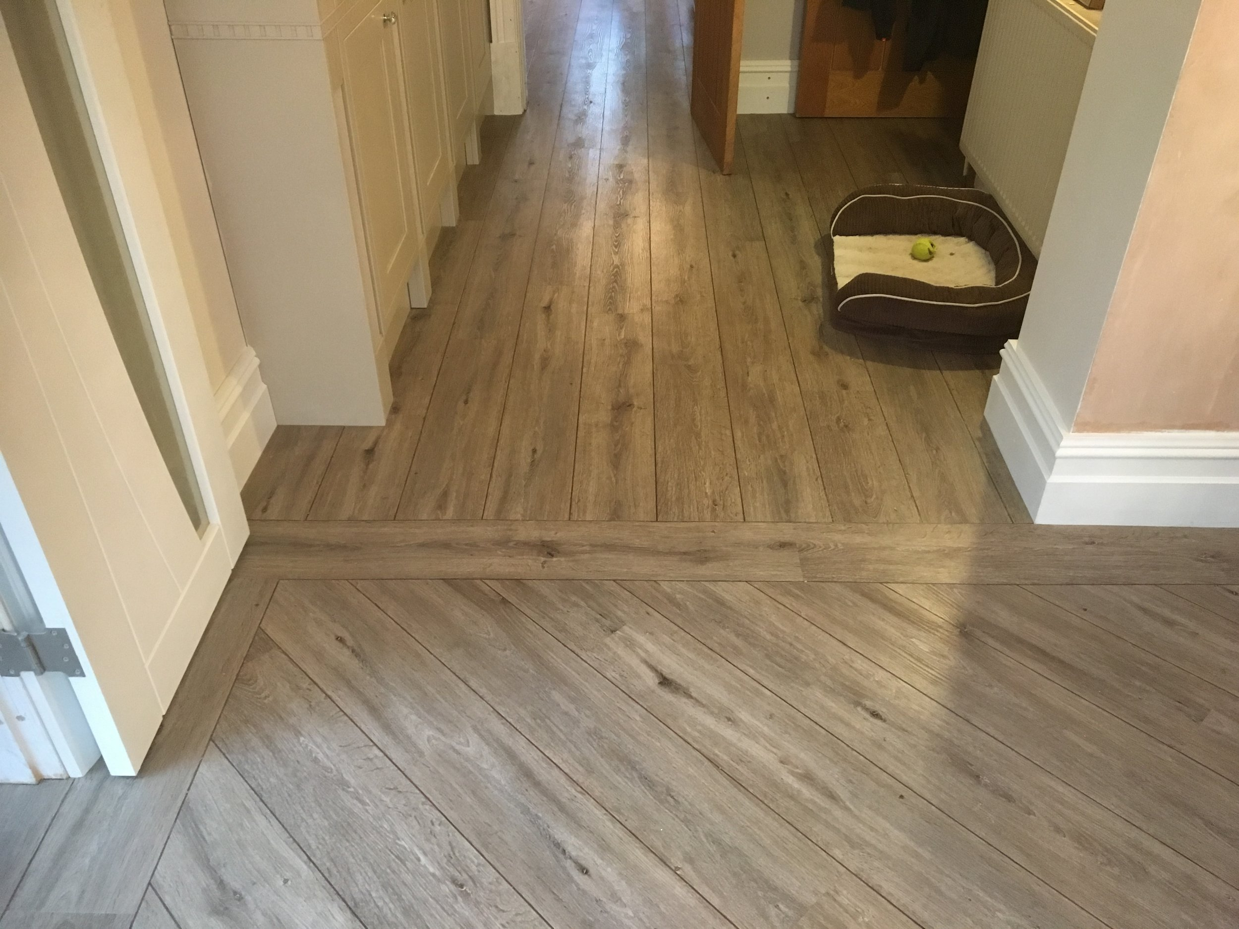 Installed by Steve Holland Flooring