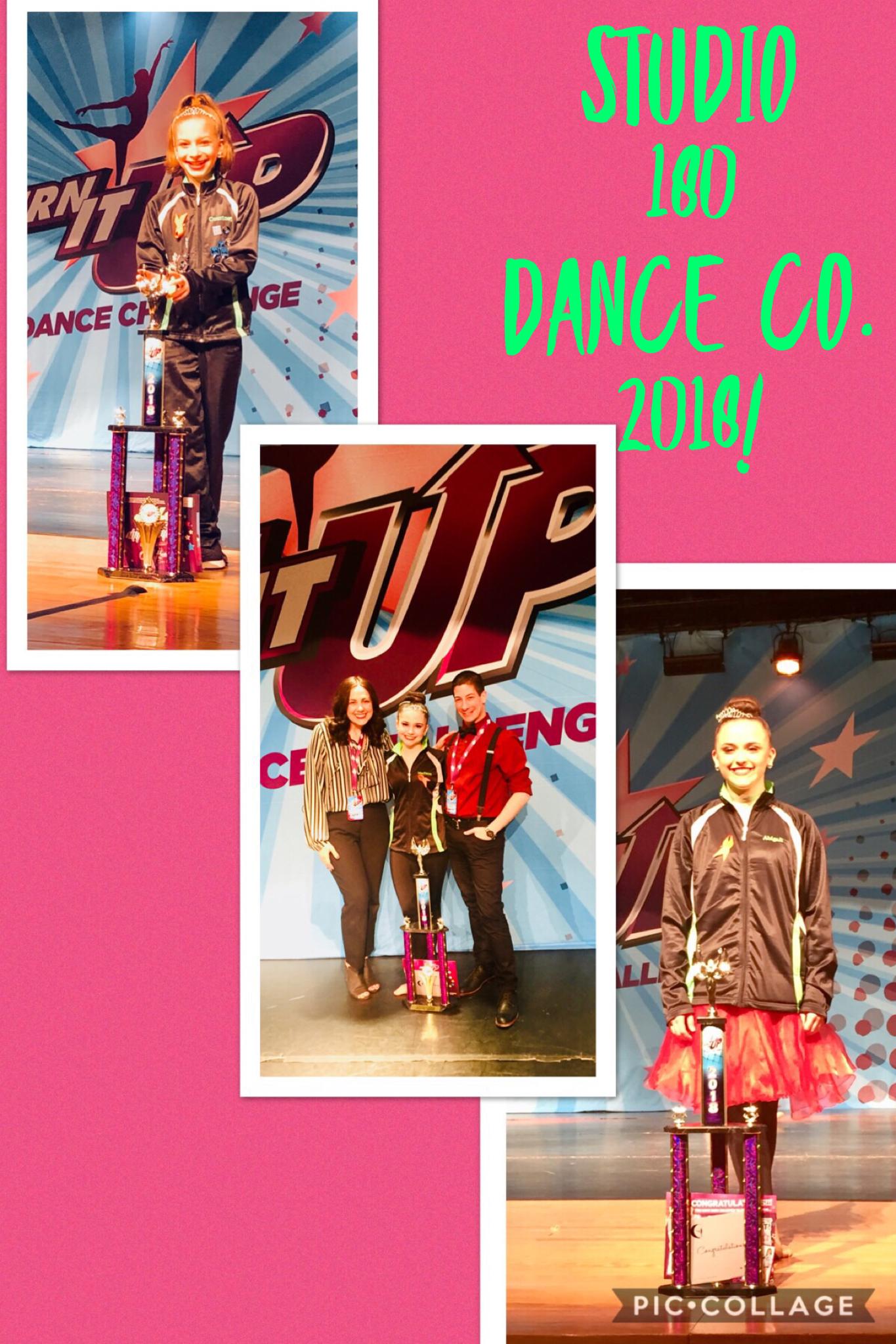 Miss Junior TIU Courtney Zwick, Miss Teen TIU Abigail Wagman, Miss Senior Teen TIU Madison Duley - 2018 Woodbridge Regional, Turn it Up Dance Competition