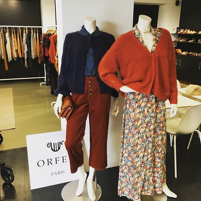 New collection #orfeoparis #winter# ❤️❤️❤️