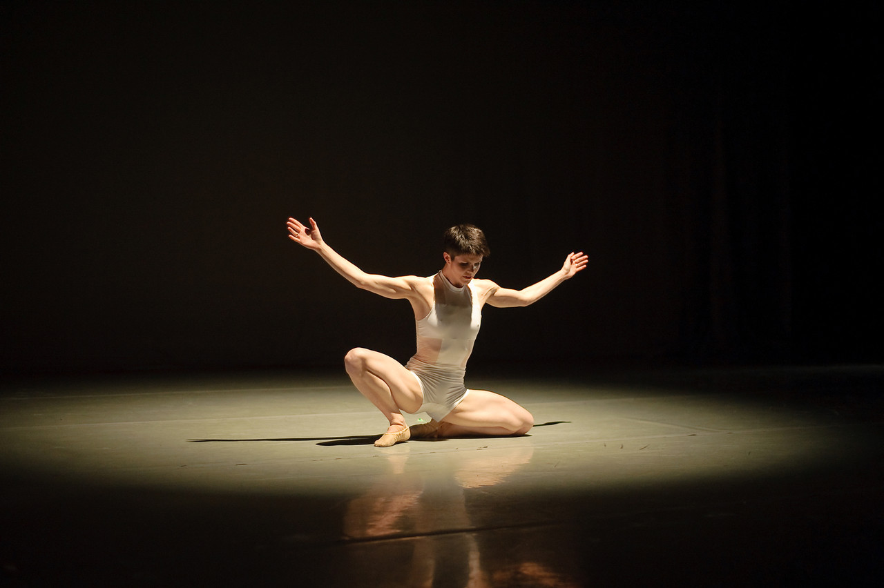 Anybody Out There     Company: Lauren Edson + Dancers     Premiered: August 2013 (Jacob's Pillow Inside/Out Series)    Music: Chromatics    This abstract duet explores the choice to add and subtract elements.