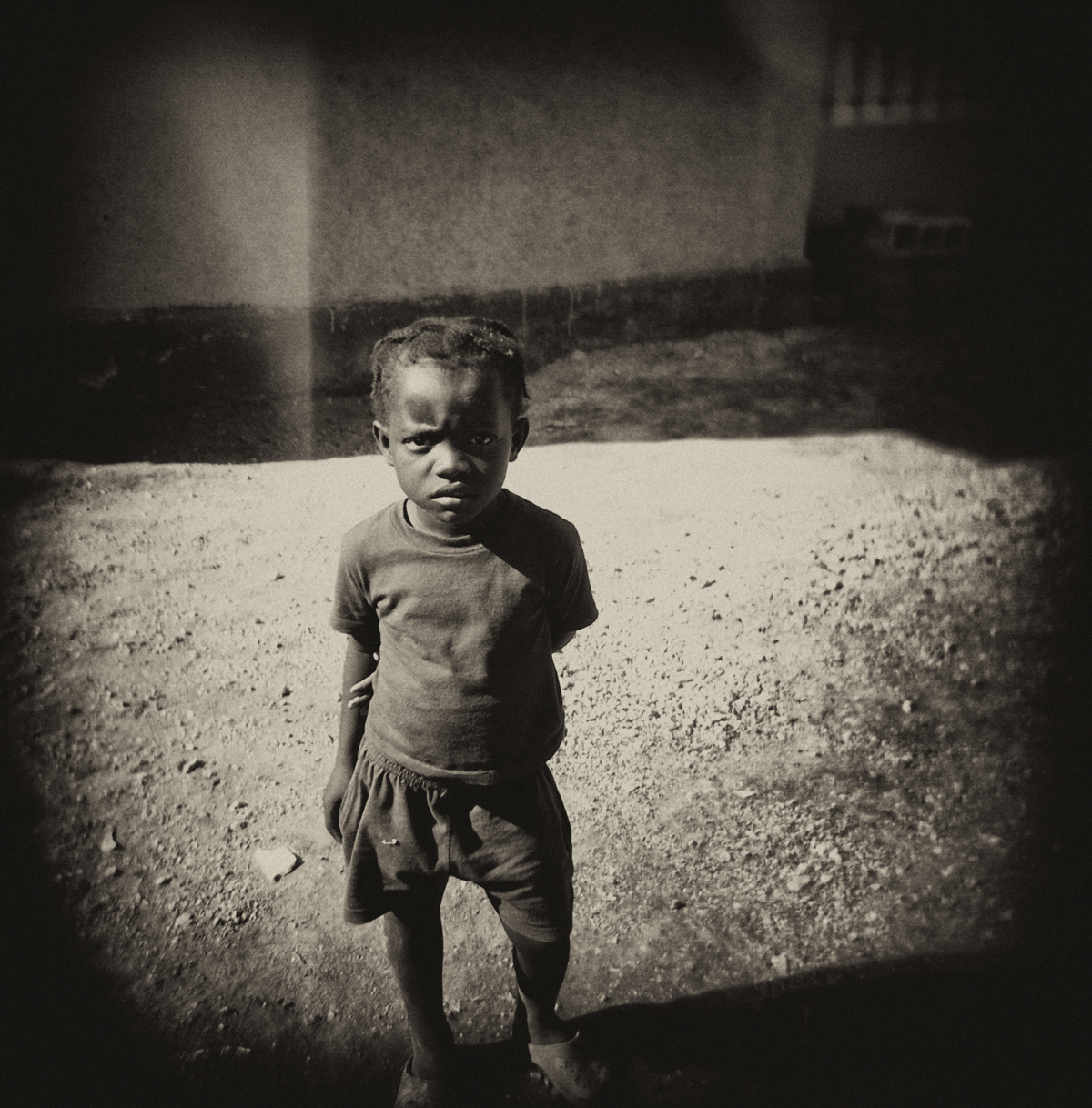 Haitian Boy Frowns.JPG