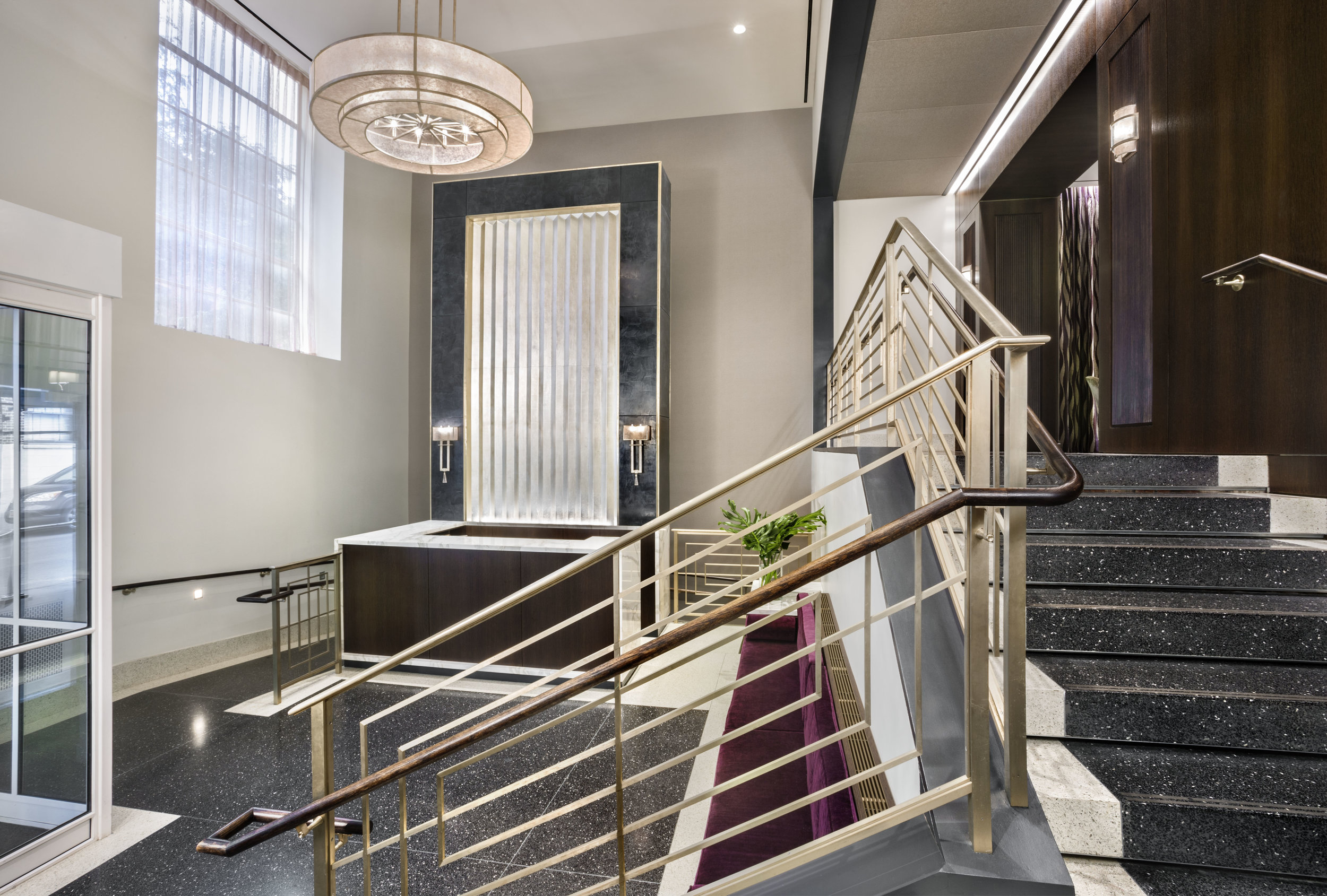 Architect Transforms Brooklyn Heights Co-op Lobby From Grim to Glam - Architect Transforms Brooklyn HeightArchitect Transforms Brooklyn Heights Co-op Lobby From Grim to Glams Co-op Lobby From Grim to Glam