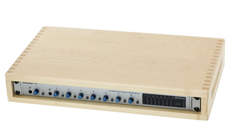 Digikit Multichannel USB Mixer in Maple Desktop Case