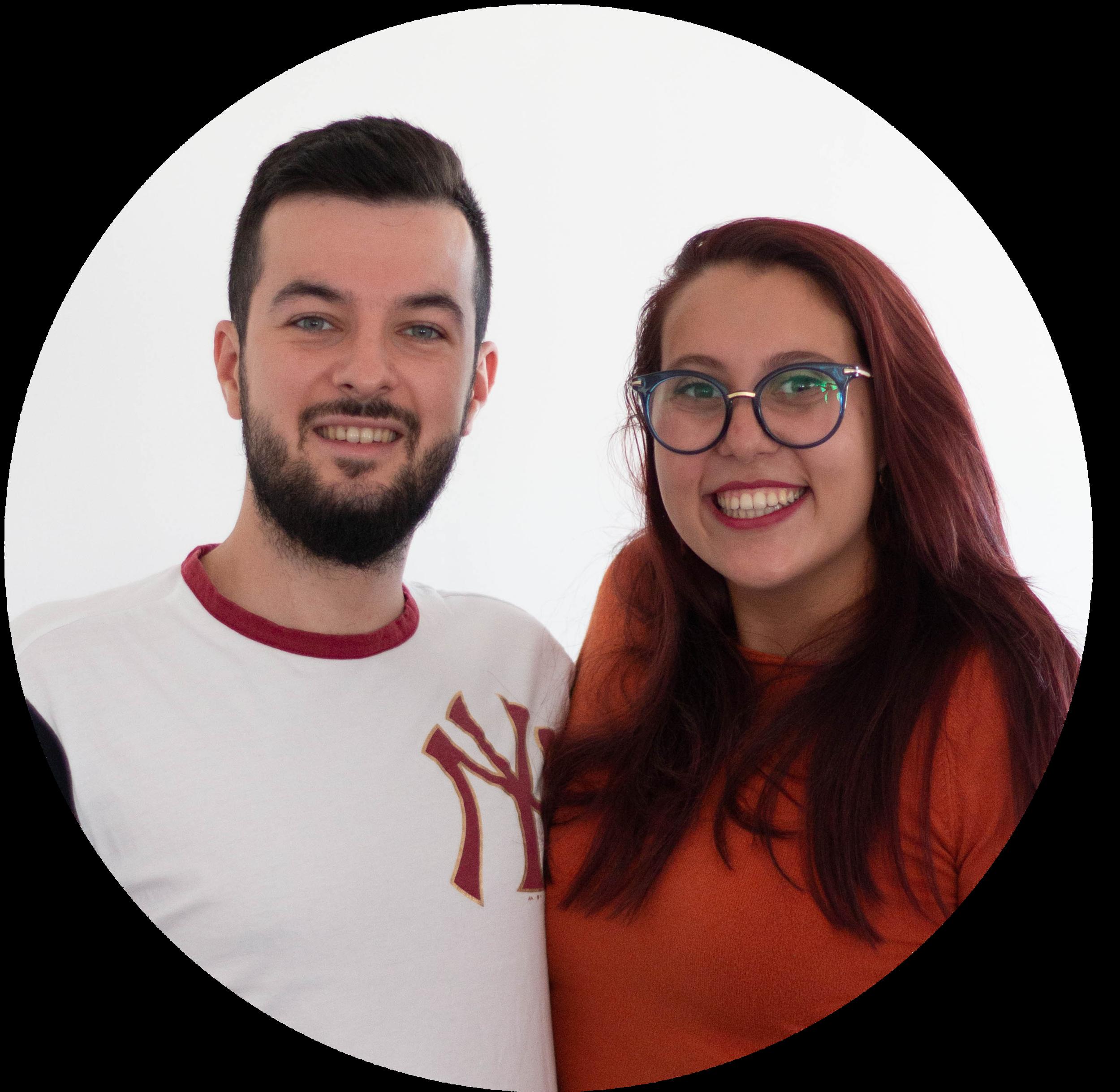 George e Alessandra - RESPONSABILE GRUPPO GIOVANI