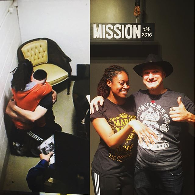 She said yes! Congrats from Escape Mission!