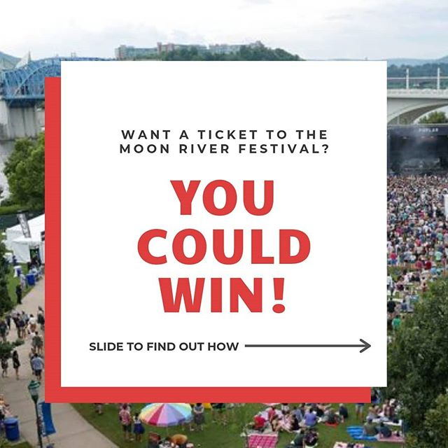 2019 MOON RIVER FESTIVAL TICKET GIVEAWAY!! Don't miss out on this opportunity to win a ticket to the Moon River Festival in Coolidge Park on September 7 & 8! Swipe to see details on how to participate and enter to win!  We are open and hoping to see you so you can get your pictures to win! #NewMoonBash #chattanoogafun #escaperoom #chattanoogatn
