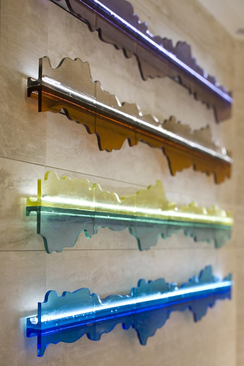deJong_cast glass_stainless steel framed support_Sunrise at Matagorda Bay sculpture.jpg