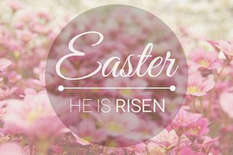 Hallelujah- He is Risen! Happy Easter!