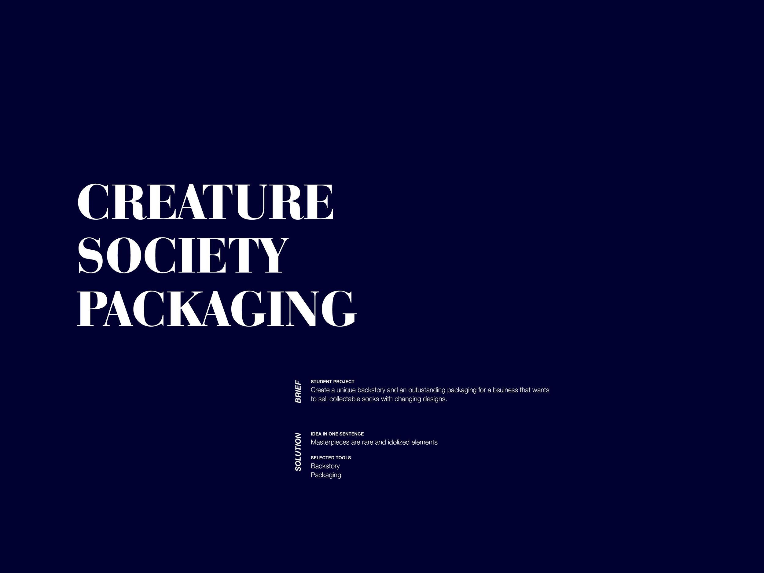 Creature Society. www.studioschenker.com