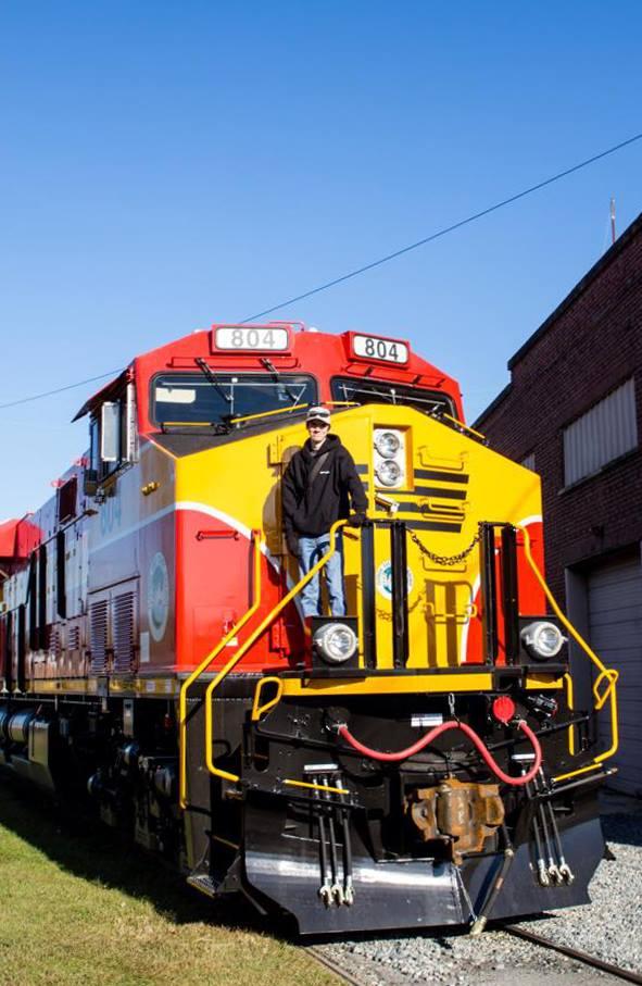 FEC Railway ES44 Locomotive Debut Shoot
