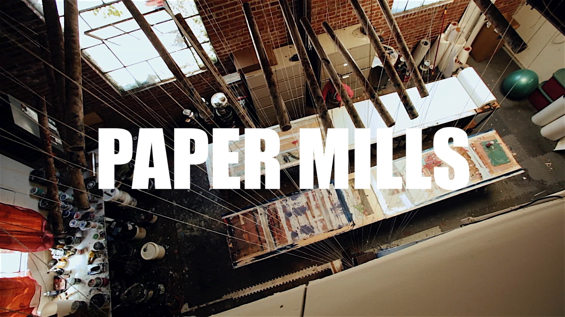 This the story of Amy Mills an artist living and working in Oakland dedicated to the manufacture of handprinted wallpaper.