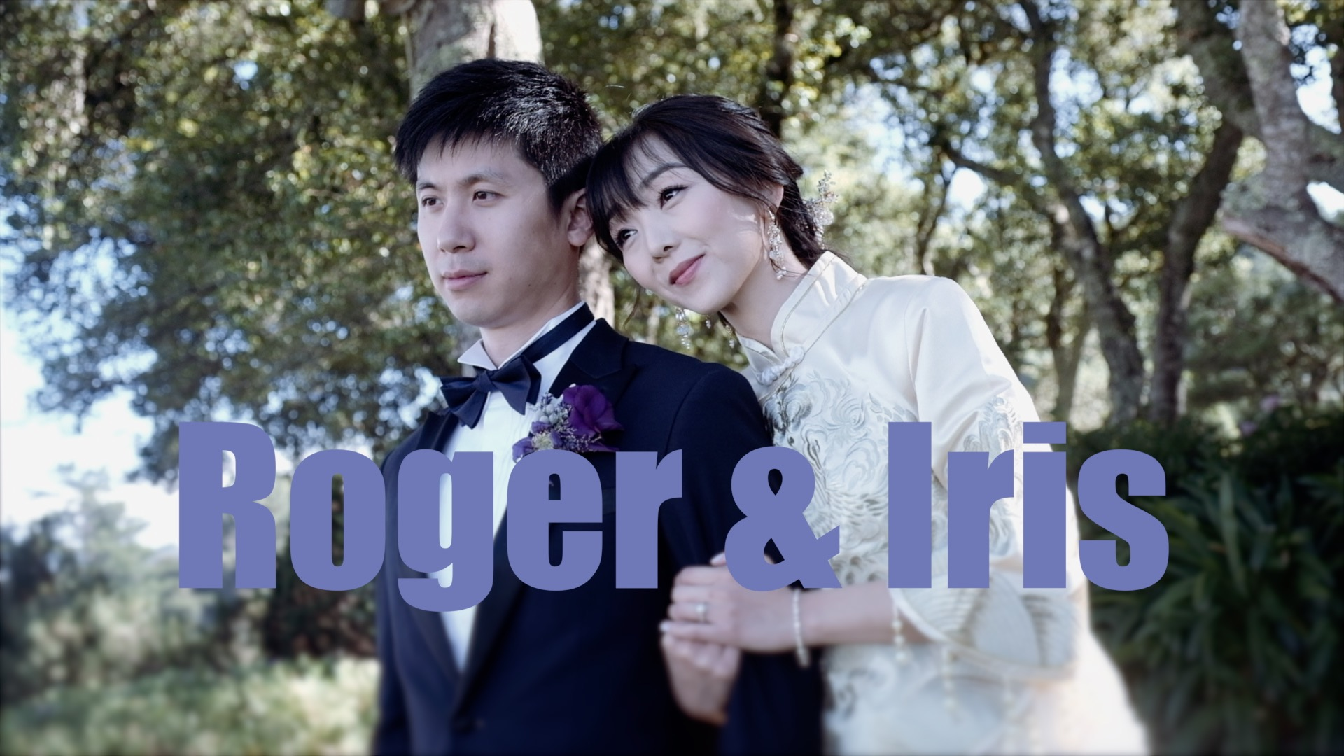 A wedding filmed at the  Thomas Fogarty Winery .
