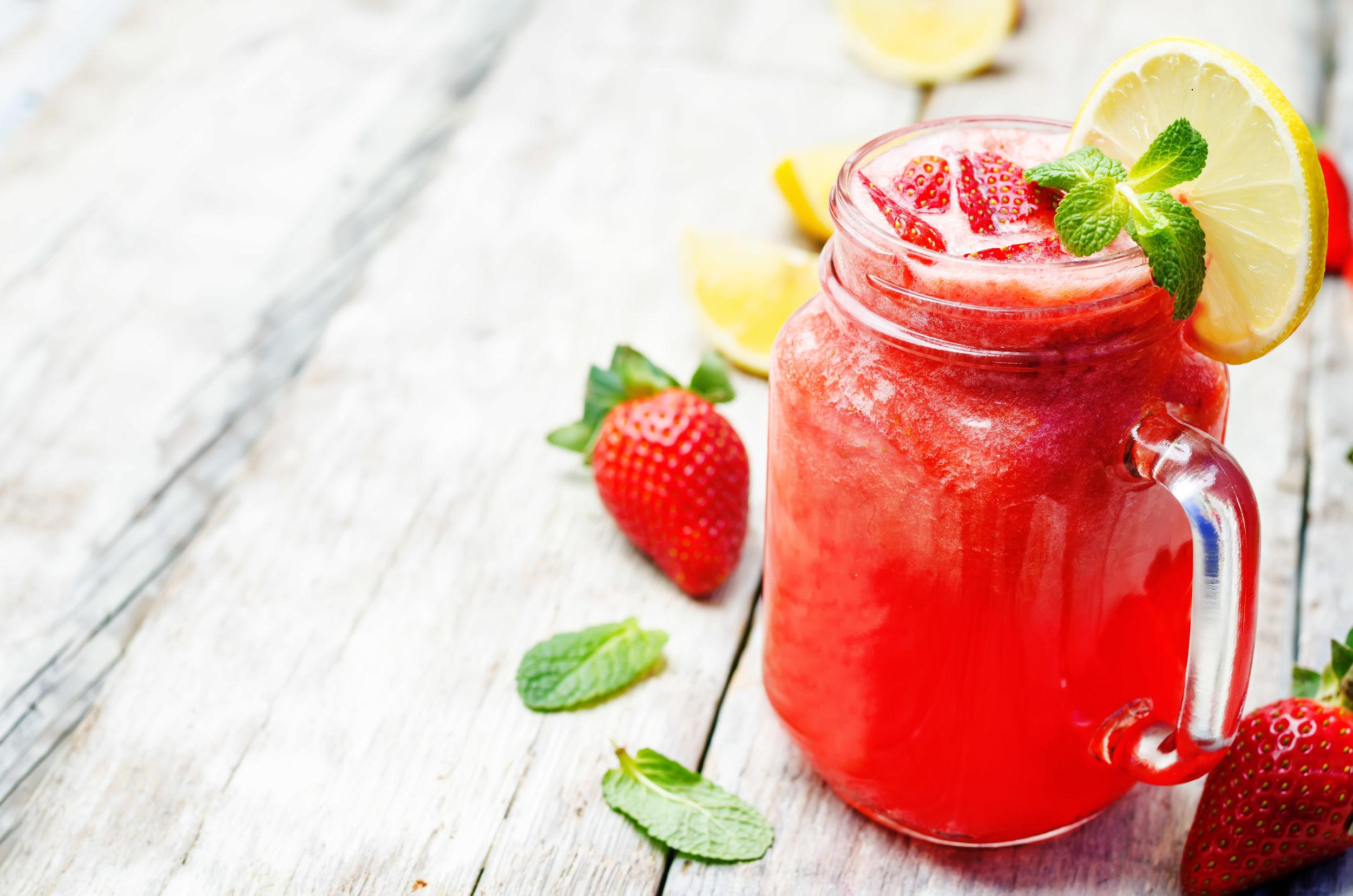 Strawberry Cherry Freeze