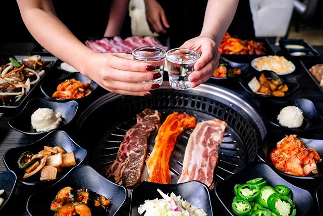 Come celebtrate your Labor Day weekend the right way at Gen Korean BBQ! Cheers!