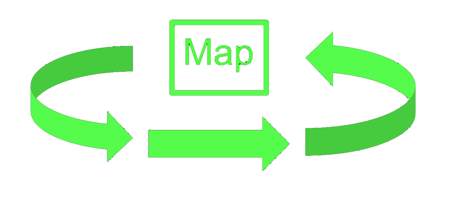 A processual approach does not differentiate between separate arenas of map production and consumption
