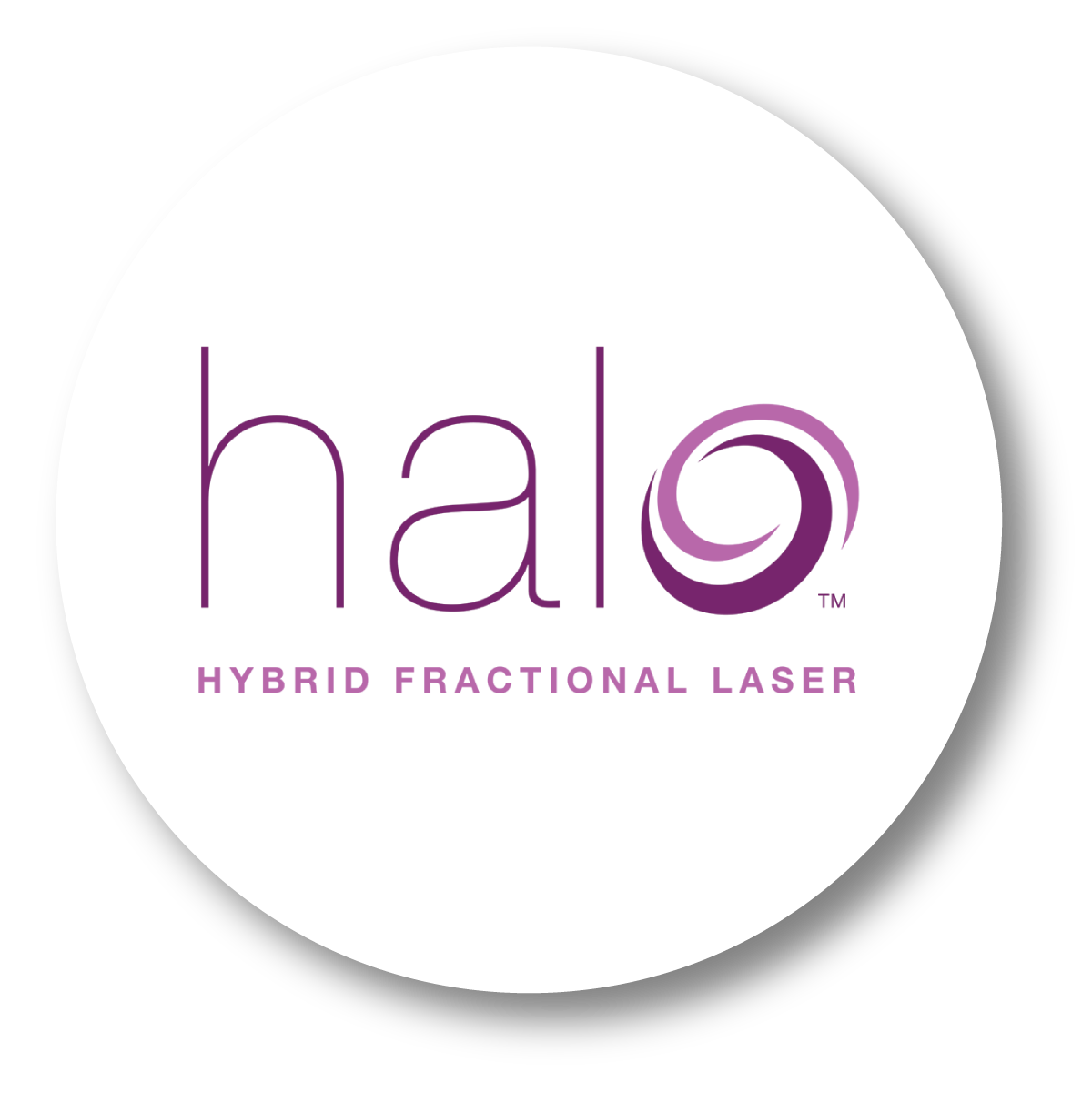 Halo for fine Lines