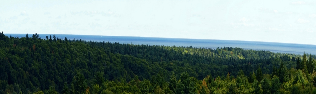 View from KELT's Higgins Mountain Preserve in Georgetown by of Bob Huber