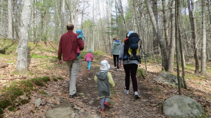 There are a variety of trails suitable for many ages. You don't have to hike far to have an adventure!