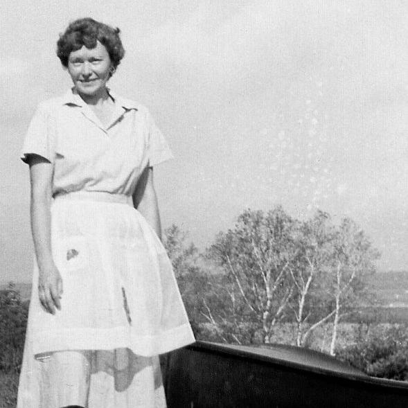 Eleanor Burke on her beloved property in Woolwich