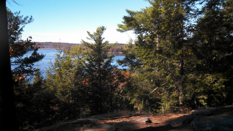 View of the Kennebec River as it meets Whiskeag Creek in 2012 by Alicia Heyburn.