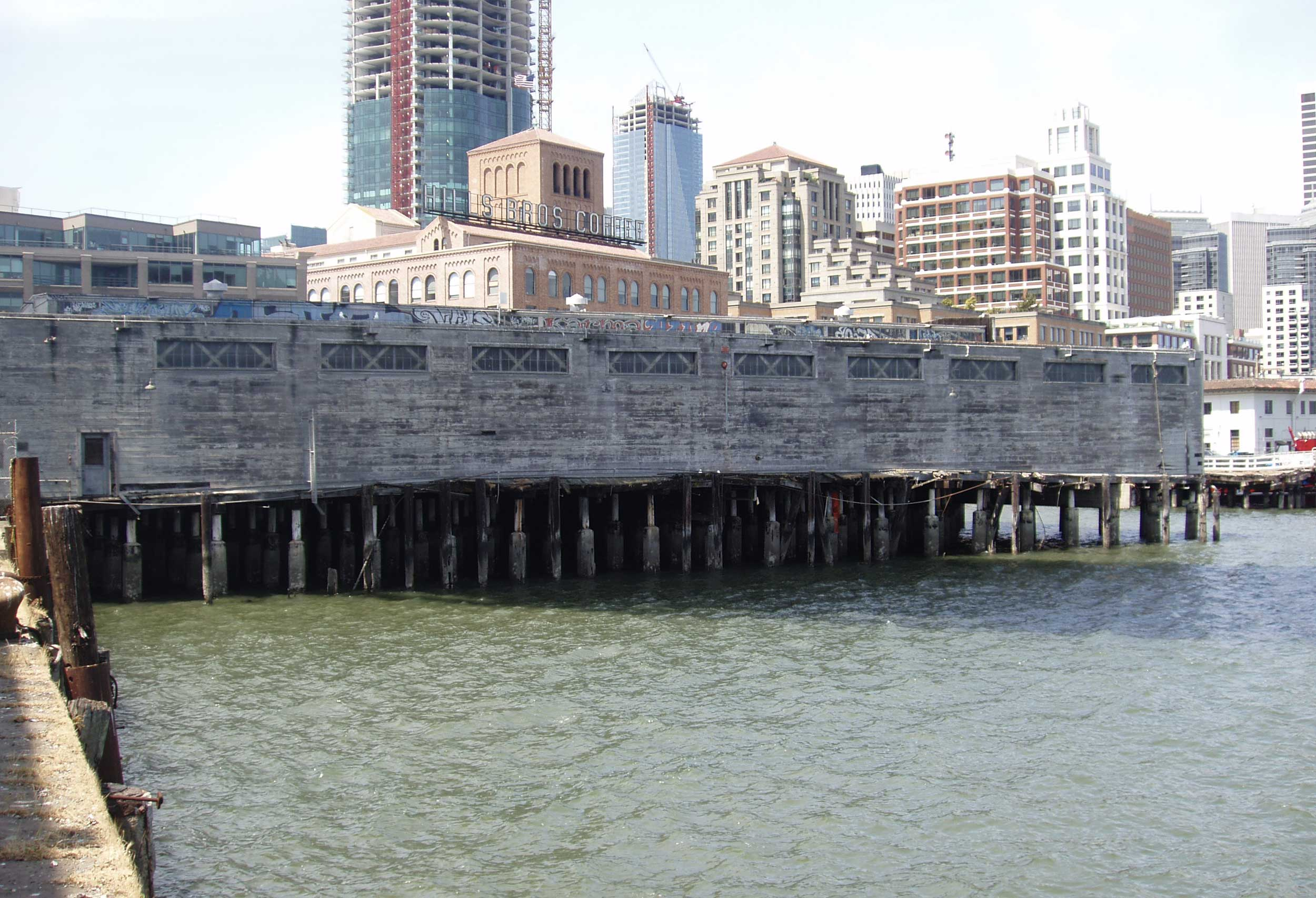 Pier 24 Before