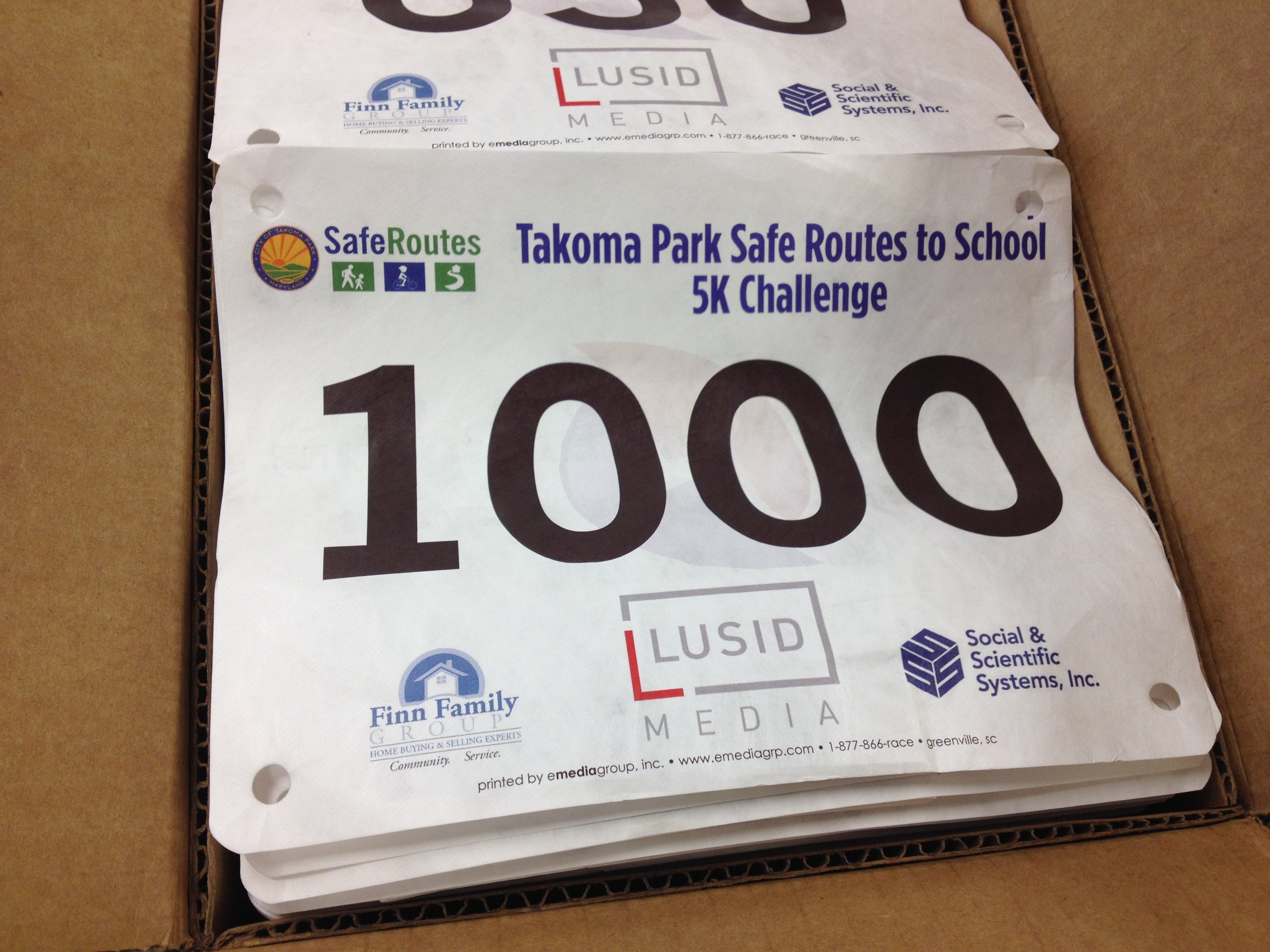 More than 1500 runners are expected to participate!