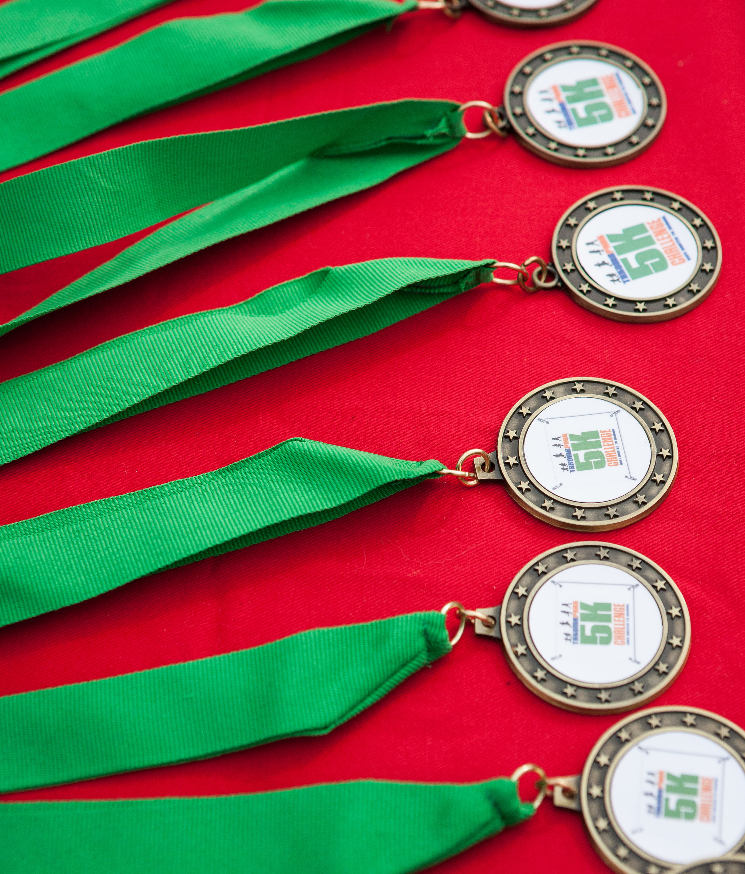 Everyones a winner in Takoma Park. Some winners will take home medals!