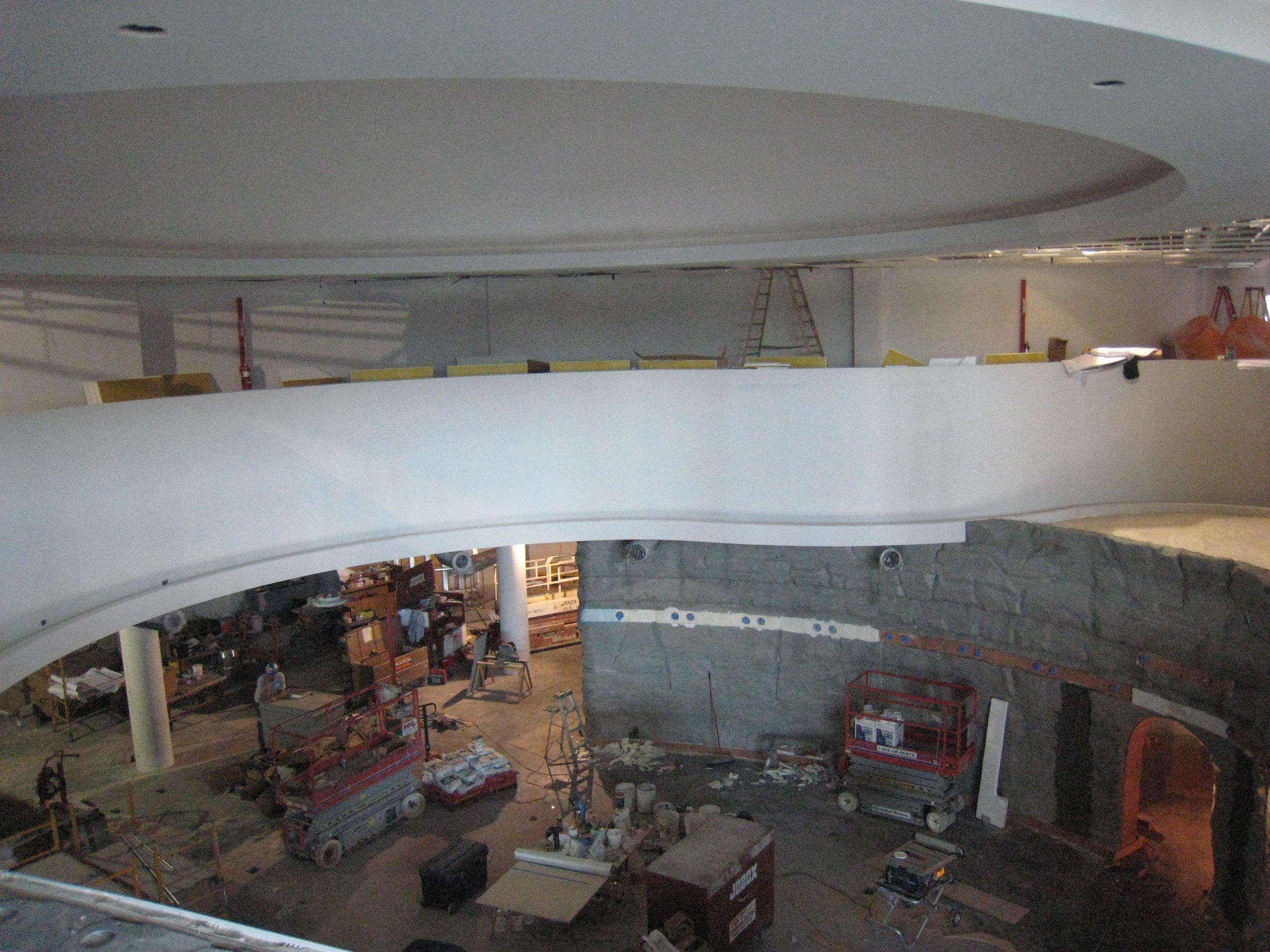 Flint Hills Discovery Center construction