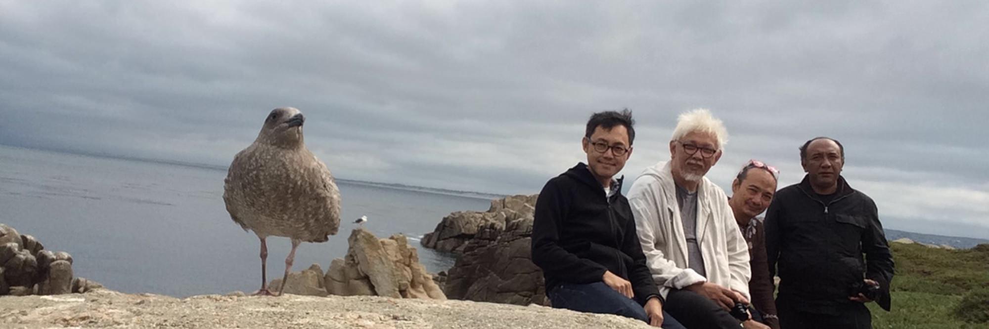 ROAD TRIP TO CALIFORNIA 2015   | Ahmad Zakii Anwar, Heri Dono, Kow Leong Kiang, Putu Sutawijaya | Sep 22, 2015 |  press release