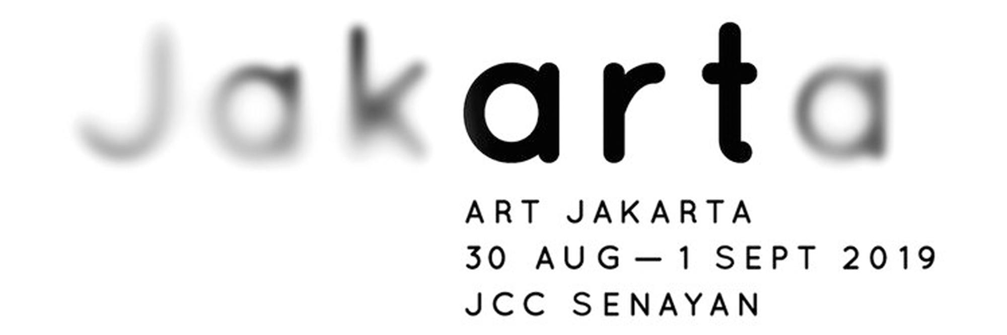Art Jakarta Fair     Mella Jaarsma, Aliansyah Caniago   August 29 - September 1, 2019